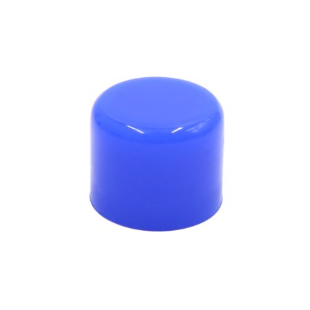 "25mm 1"" Silicone Blanking Cap Intake Vacuum Hose Tube End Bung Blue"