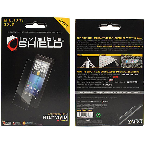 Zagg invisibleShield HTC Vivid/Raider Screen Protector