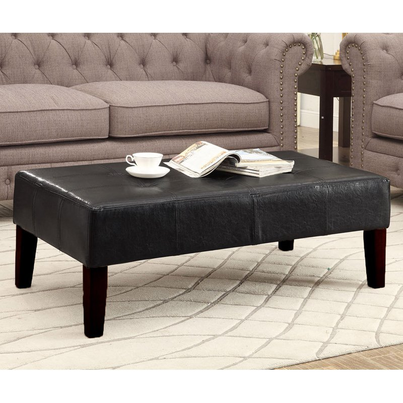 4D Concepts Large Coffee Table - Black