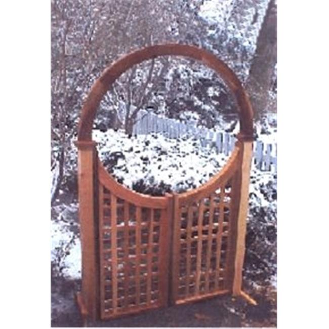 New England Woodworks LATTICE GATE 48 Lattice Gate