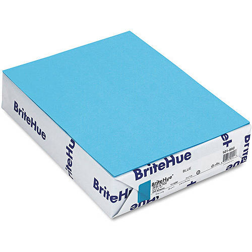 Mohawk Brite-Hue Multipurpose Colored Paper, 500 Sheets