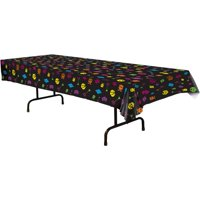 80'S Table Cover (Each) - Party Supplies