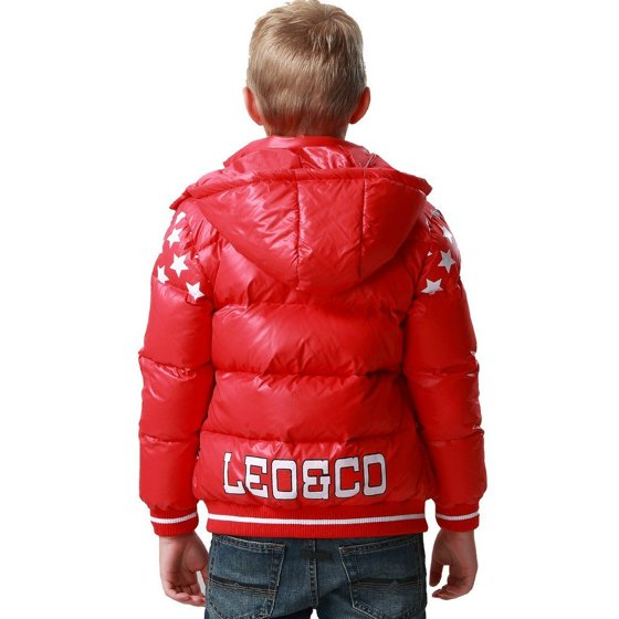 630816caf4dd Leo Lily - Leo Lily Big Boys Down Padded Puffer Jacket with Hood ...