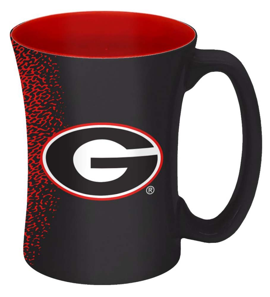 Georgia Bulldogs Coffee Mug - 14 oz Mocha