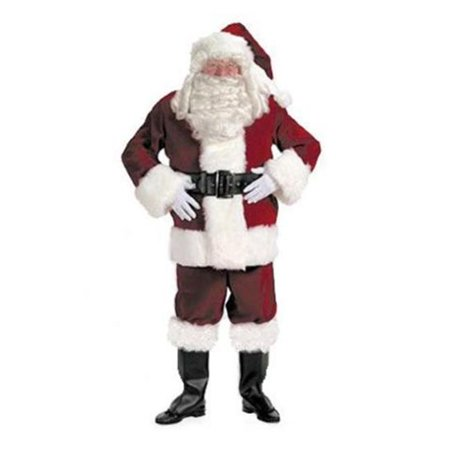 HALCO 7091-P Crimson Velvet Pants Santa Suit for 7091