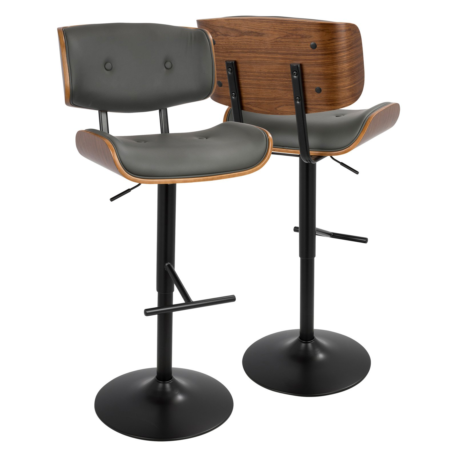 LumiSource Lombardi Barstool, Multiple Colors Available