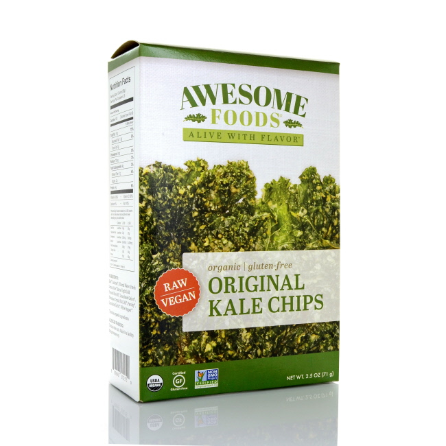 Click here to buy Awesome Foods Original Kale Chips, 2.5oz by Awesome Foods.