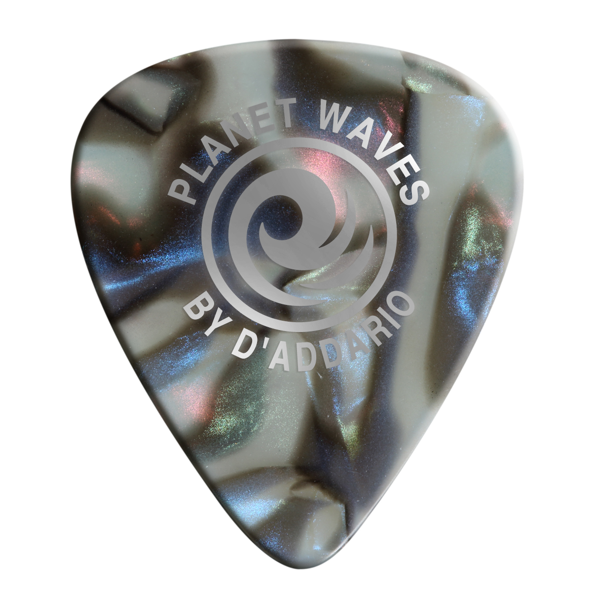 Planet Waves Abalone Celluloid Guitar Picks 25 pack, Light by