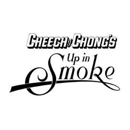 Cheech & Chong - Up In Smoke Cutout Decal