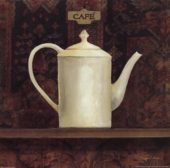 Ornamental Teapot I Poster Print by Avery Tillmon (12 x 12)