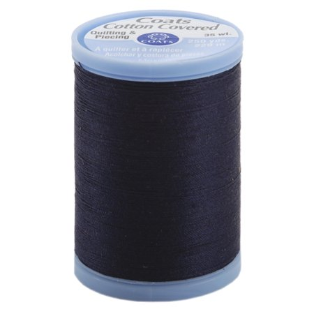 250 Thread (Cotton Covered Quilting & Piecing Thread 250 Yards-Navy )