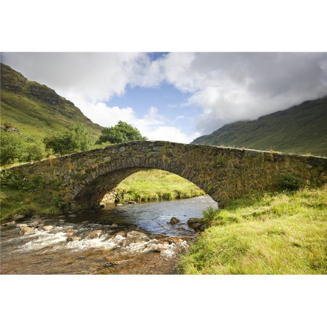 Posterazzi DPI1834871LARGE Stone Bridge Scotland Poster Print, Large - 38 x 24 - image 1 of 1