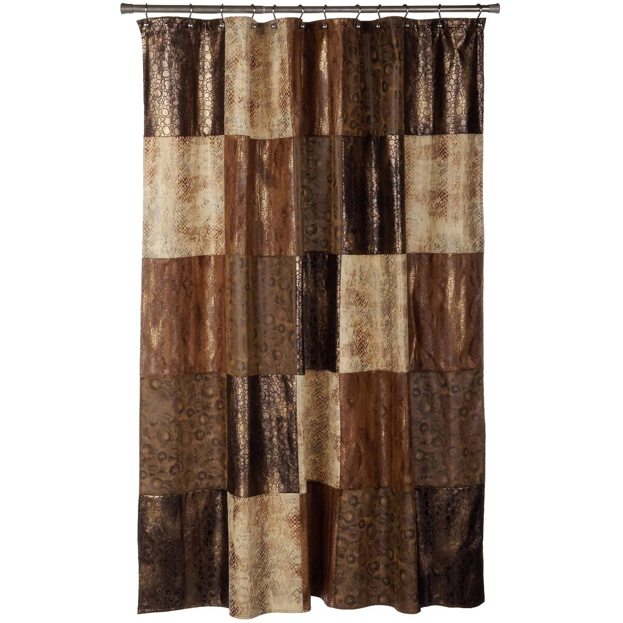 Piece Bath Sets - Burgundy shower curtain sets
