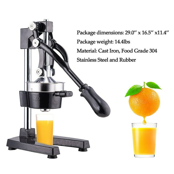 Orange Press Juicer ~ Zimtown manual juicer hand press fruit juice