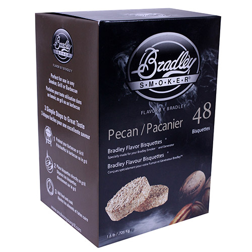 Bradley Technologies Pecan Bisquettes (48 Pack) SKU: BTPC48 with Elite Tactical Cloth
