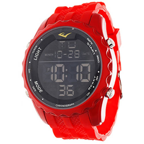 Everlast Men's Digital Watch, Red