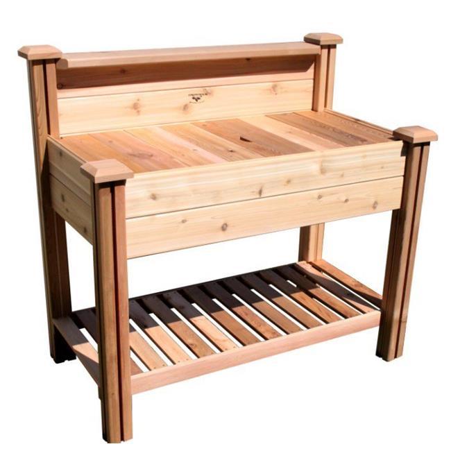 Potting Bench 24x48x48 with Shelf