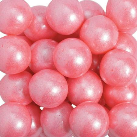 Large Shimmer Pink Gumballs (Pink Gumballs Bulk)