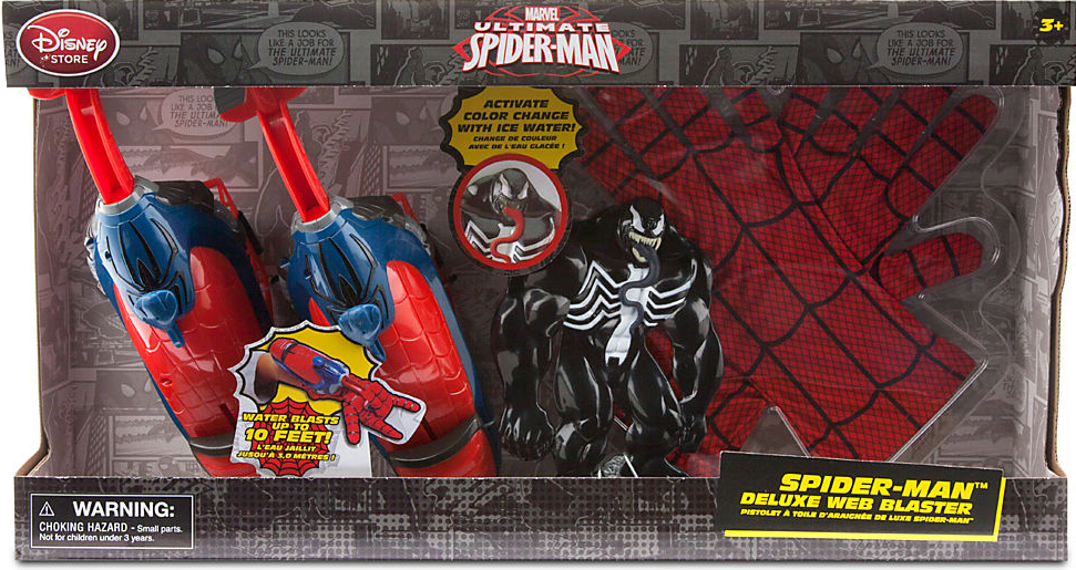 Ultimate Spider-Man Spider-Man Deluxe Web Blaster Playset by Bigbolo