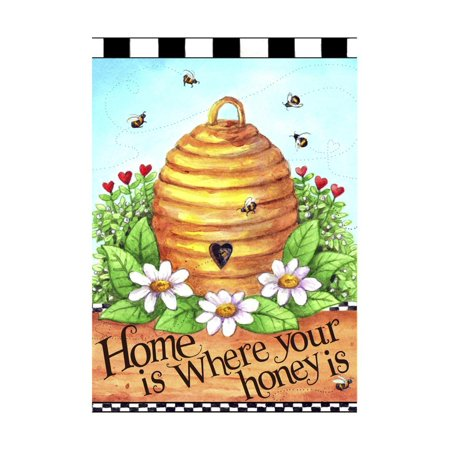 Bee Hive Home Print Wall Art By Melinda Hipsher