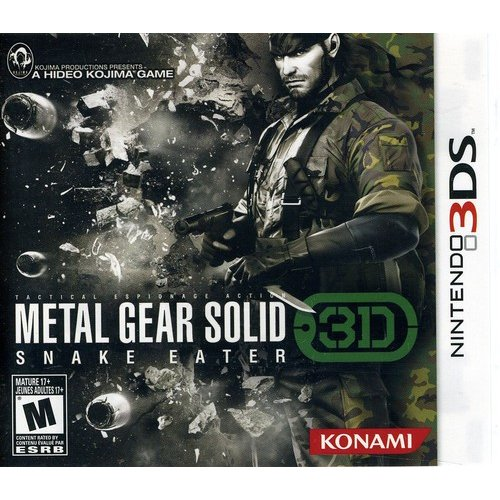 Metal Gear Solid Snake Eater 3D - 3DS