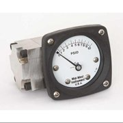 MIDWEST INSTRUMENT 142-SA-00-OO-10P Pressure Gauge,0 to 10 psi