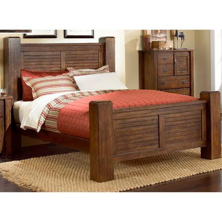 Progressive Furniture Trestlewood Post Complete