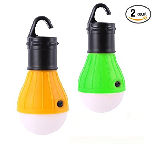 Outdoor Portable C&ing Lantern 2 Pack Tent Light Bulbs Battery Operated for Hiking Emergency Hurricane  sc 1 st  Walmart & Outdoor Portable Camping Lantern 2 Pack Tent Light Bulbs Battery ...