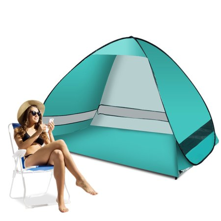 Beach Canopy Tent Portable Anti-UV Lightweight Beach Shade Tent Canopy Sun Shelter