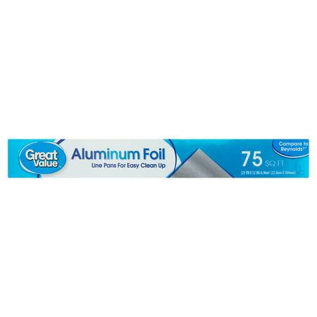 Great Value 75 sq ft Aluminum Foil 1 Special Foil