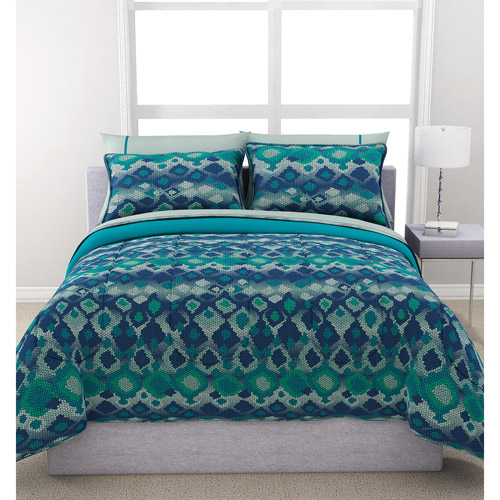 bed sets walmart formula python reversible bed in a bag bedding set 10262