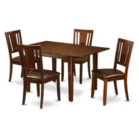 East West Furniture Picasso 5 Piece Scotch Art Dining Table Set