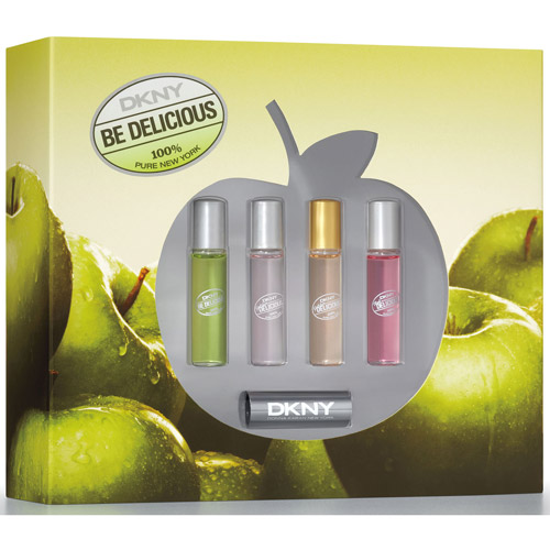 DKNY Be Delicious Coffret for Women, 4 pc