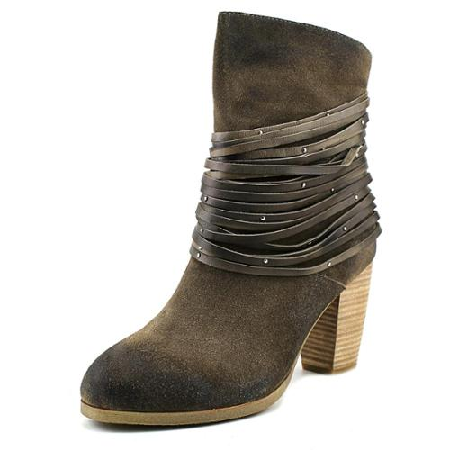Antelope Bangles Women  Round Toe Leather Gray Mid Calf Boot