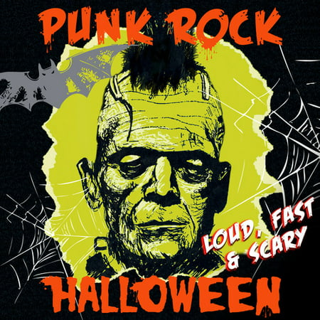 Punk Rock Halloween - Loud Fast & Scary / Various - Scary Halloween Music Screams