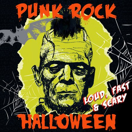 Punk Rock Halloween - Loud Fast & Scary / - Scary Halloween Rock Music