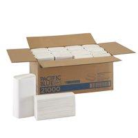 Georgia-Pacific Pacific Blue Select Multifold Premium 2-Ply Paper Towels, 21000, 125 Paper Towels per Pack, 16 Packs per Case