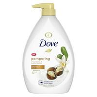 Dove Shea Butter with Warm Vanilla Body Wash Pump 34 oz