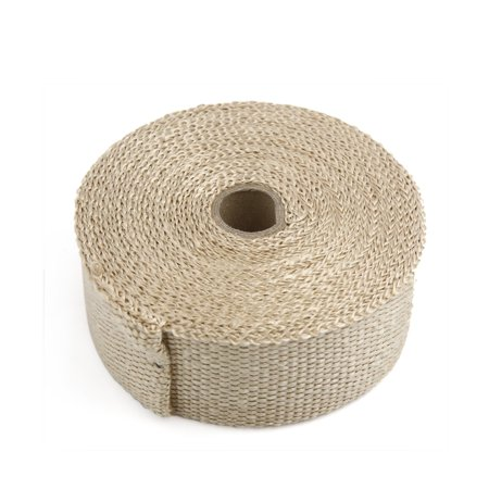 10m Copper Tone Woven Cloth Car Motorcycle Exhaust Pipe Heat Insulation Wrap