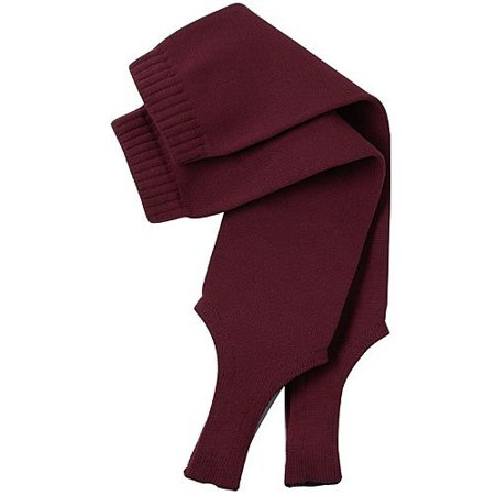 Twin City Adult/Youth Solid Stirrup Socks 19 Inch Large Maroon