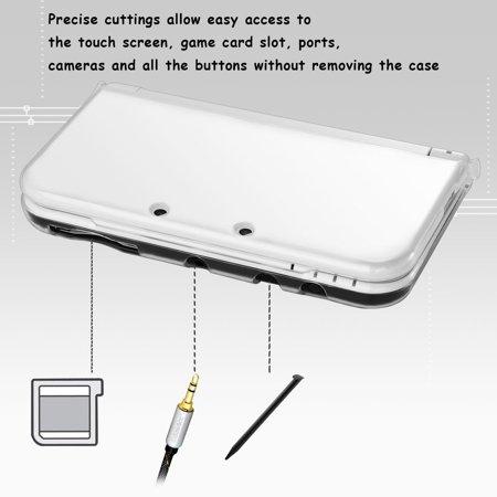 Nintendo New 3DS LL/3DS XL Case, by Insten TPU Gel Case Cover For Nintendo New 3DS LL/3DS XL, Clear - image 8 de 8