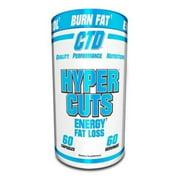 CTD Labs HYPER CUTS 60 capsules Fat Burner ENERGY APPETITE CONTROL