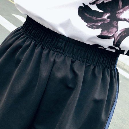 Student Wild Loose Shorts Female Summer Trend Handsome Sports Shorts - image 4 of 5