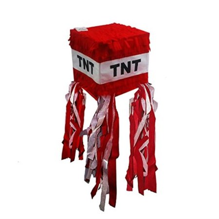 Pinatas TNT for Minecraft Party](Minecraft Birthday Party Supplies)