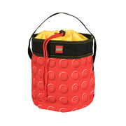 LEGO® Storage Cinch Bucket -Red