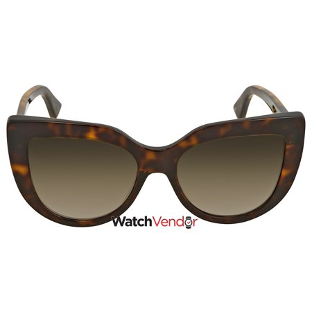 c916ac6126 Gucci Brown Gradient Cat Eye Sunglasses GG0164S 002 53 - image 2 of 2 ...