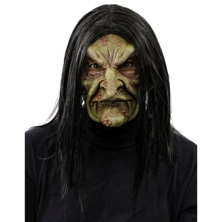 Witch Overhead Moving Mouth Mask - Witch Masks