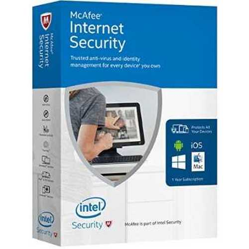 McAfee 2016 Internet Security Unlimited
