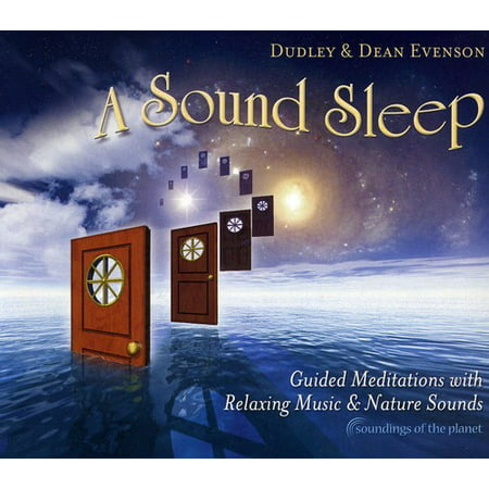 Sound Sleep: Guided Meditations With Relaxing Music and Nature Sounds (CD)