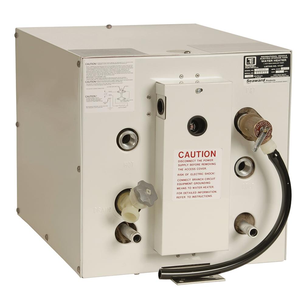 Whale Seaward 6 Gallon Hot Water Heater w/Front Heat Exchanger - Whit... [F650W]